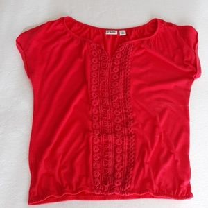Pink summer top Size Large